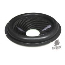 "10"" Carbon cone with surround 2.5"" voice coil opening,Depth 40 mm"