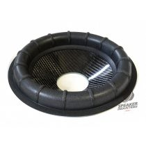 """10"""" Carbon cone with ribbed surround 2.5"""" voice coil opening,Depth 40 mm"""