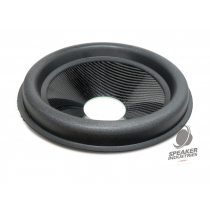 "12"" Carbon cone with surround 3"" voice coil opening,Depth 50 mm"