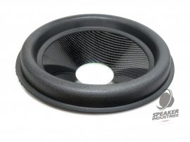 """12"""" Carbon cone with surround 3"""" voice coil opening,Depth 50 mm"""