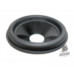 """12"""" Carbon cone with surround 4"""" voice coil opening,Depth 50 mm"""