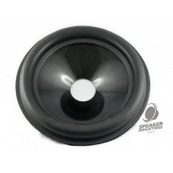"""15"""" Carbon cone with surround 4"""" voice coil opening, Depth 80 mm"""