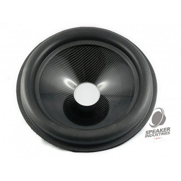"15"" Carbon cone with surround 4"" voice coil opening, Depth 80 mm"