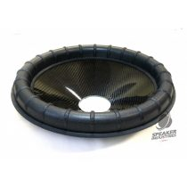 """15"""" Carbon cone with Ribbed surround 3"""" voice coil opening,Depth 65 mm"""