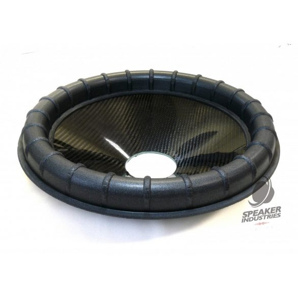 "15"" Carbon cone with Ribbed surround 3"" voice coil opening,Depth 65 mm"