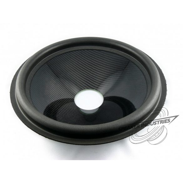 "15"" Carbon cone with surround 3"" voice coil opening,Depth 85 mm"