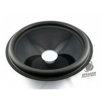 "15"" Carbon cone with surround 4"" voice coil opening, Depth 79 mm"