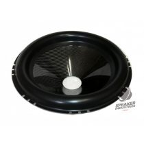 """18"""" Carbon cone with surround 3"""" voice coil opening,Depth 90 mm"""