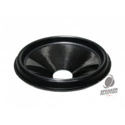 """18"""" Carbon cone with surround 3"""" voice coil opening,Depth 95 mm"""