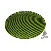 Lime Green Carbon Dust Cap DN - 150 mm