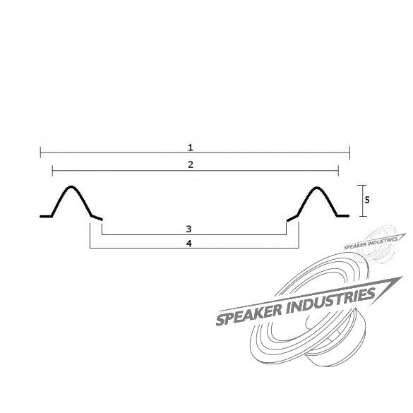 """Speaker surround 18"""""""